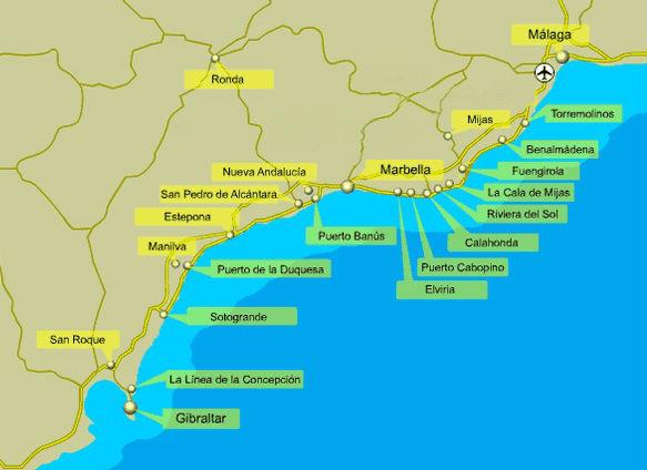 A guide to the Costa del Sol